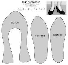 Shoe Pattern Enchanting SD Female High Heel Shoes By Scargeear On DeviantArt