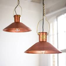 Copper Kitchen Lights Copper Pendant Light Traditional Preserve And Copper