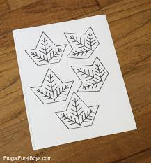 To form of small squares or blocks, as floors or pavements; Leaf Tessellation Collaborative Stem Art Project Frugal Fun For Boys And Girls
