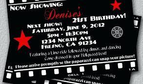 21st birthday free printable hollywood themed birthday party ideas invitation template marvelous hollywood themed birthday party x beautiful