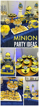 Minion Birthday Party The 25 Best Minion Party Ideas On Pinterest Minion Party