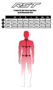 Rst Race Suit Size Chart 24 Rare Rst Size Chart