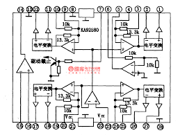 Ka9258 servo drive integrated circuit diagram control circuit
