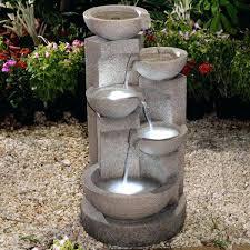 floor outdoor fountains. Indoor Lighted Water Fountains 8 Best Outdoor Images On Garden Floor D