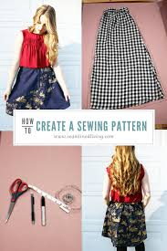 Design And Create Your Own Clothes How To Make A Sewing Pattern In 7 Steps With Your Own