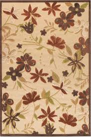 Small Picture Botanical Area Rug I Outdoor Rugs Synthetic Rugs Rugs