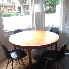 modular dining room. McIntosh Vintage Circular Modular Round Dining Table, Seats 4,6,8, Teak Room I