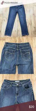 Chicos 0 Short Platinum Jeans Small 4 Short Womens