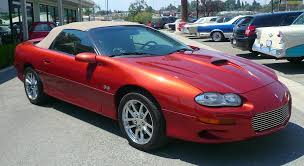 2002 Chevrolet Camaro Z28 SS Convertible related infomation ...
