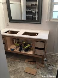 BuildingDIYbathroomvanitytestfittinggranitetop