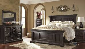 Bedroom Sets Solid Floor Ceiling Reclaimed Master Accent Dark ...