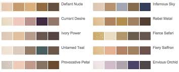 Eyeshadow Color Combination Chart Estee Lauder Pure Color Envy Sculpting Eyeshadow Another