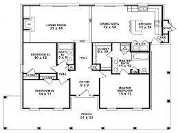 single story farmhouse house plans