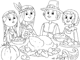 Small Picture Printable Pictures Thanksgiving Day Coloring Pages 42 For Coloring