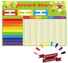 Spritegru Magnetic Refrigerator Dry Erase Board Reward Star