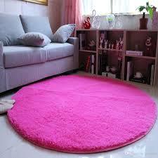 round pink rug. Deep Pink Round Area Rug