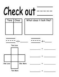 Place Value Chart For 1st Grade First Grade Place Value Calendar Chart Math School