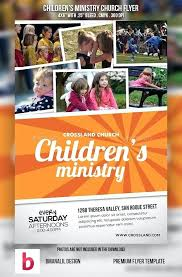Youth Church Flyers Templates Childrens Ministry Flyer Images Of ...