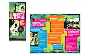 Training Flyer Templates Free Personal Training Brochure Templates Free 20 Best Gym