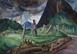 emily carr vanquished 1930