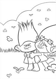 Kids N Funcom 26 Coloring Pages Of Trolls