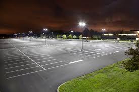 led light fixtures for parking lots