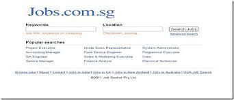 Top Job Search Websites Top 10 Job Sites In Singapore