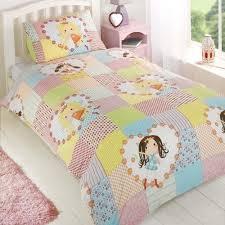 girls twin duvet cover  pillowcase bedding  ebay