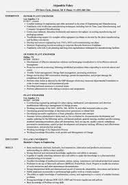 Plant Engineer Resumes Plant Engineer Resumeles Velvet Jobs Gisle Frightening Doc Free Resume