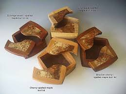 Decorative Wood Boxes With Lids A Decorative Keepsake Box Handmade of Exotic Woods 27