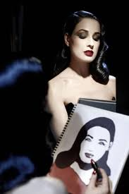 the dita von teese clics collection is the first makeup line from the burlesque performer and beauty icon
