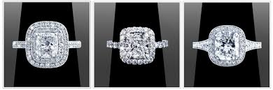 fresh image of rectangle cushion cut engagement rings ring ideas