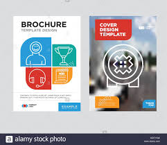 Newspaper Flyer Template Bank Safe Brochure Flyer Design Template With Abstract Photo