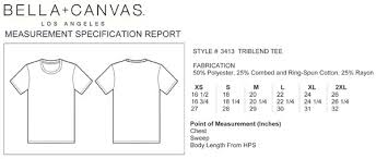 Bella T Shirt Size Chart Number One Dad Bella Canvas Unisex Tee