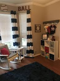 baseball nursery red white and blue