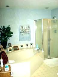 garden tub corner bathroom designs decorating ideas pictures with