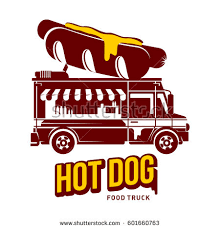 black and decker logo vector. hot dog food truck logo vector illustration. vintage style two tone template for your black and decker