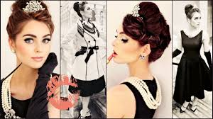breakfast at tiffany s makeup hair style tutorial jackie wyers