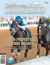 California Thoroughbred Magazine May 2019 By Ctba Issuu