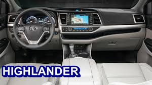 2017 Toyota Highlander - INTERIOR - YouTube