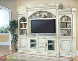 Westminster Large White Ornate TV Entertainment Center Wall Unit ...