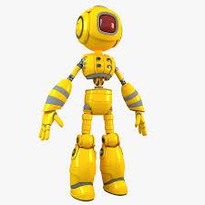 obj Android Robot 49 3d fbx Model Free3d max qAp6wH6xCI