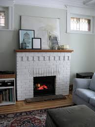 painted white brick fireplacePainting your brick fireplace whiteto do or not to do  solve my