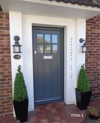 Nice Front Door   Make Lower Paneling Without Trim   More Square, Shaker Style  1930s House