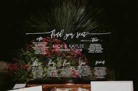 Acrylic Wedding Seating Chart This Acrylic Wedding Seating Chart Is A New Favorite