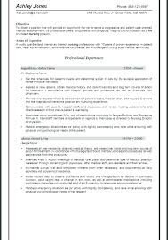 Objective For Resume For Nursing Related Post Objective Resume