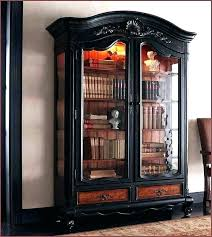 altra bookcase with sliding glass doors black bookcases an furniture barrister aaron lane white transform expandable
