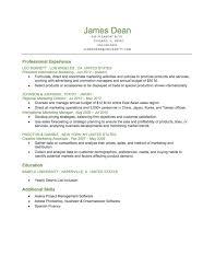 Resume Reverse Chronological Order Reverse Chronological Resume