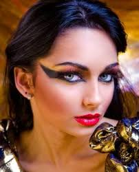 eye makeup ancient egyptian look