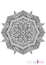 Coloriage Imprimer Mandala Difficile L L L L